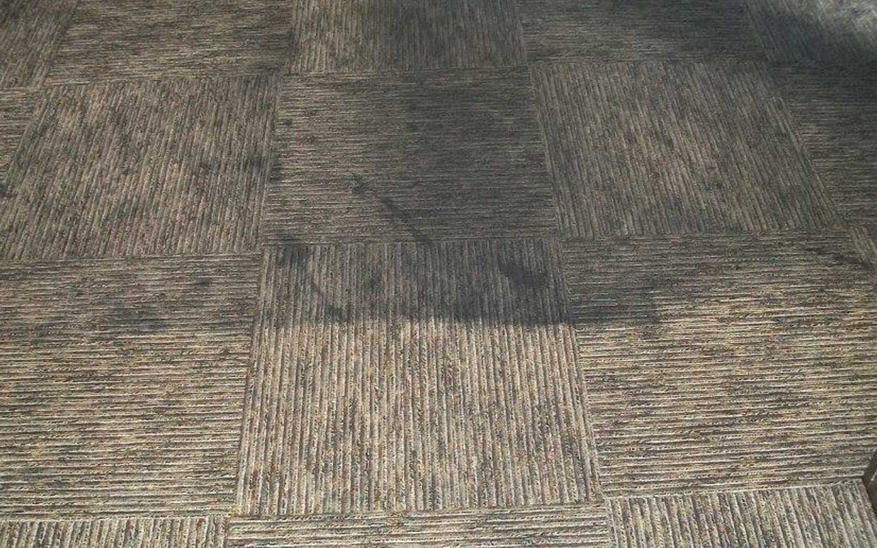 Office Flooring Before & After