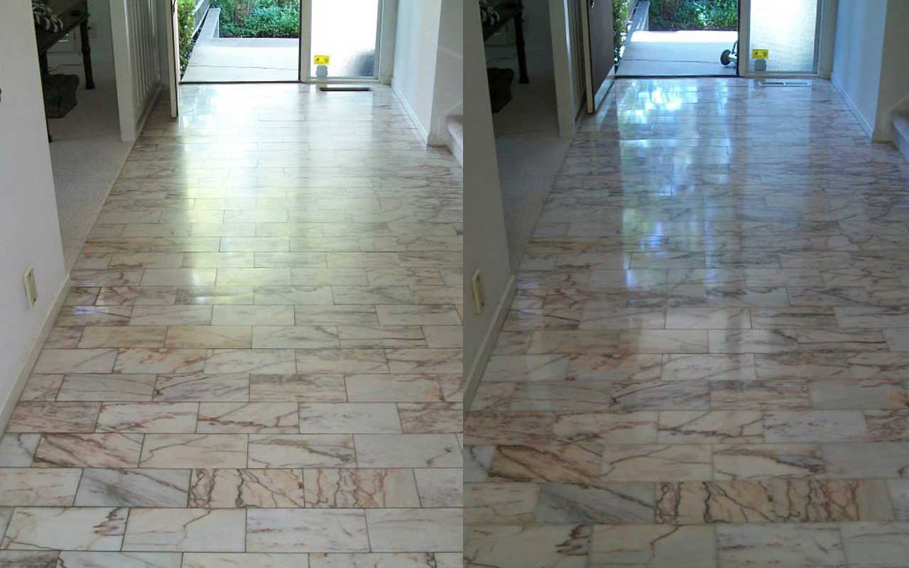 Before and After Natural Stone